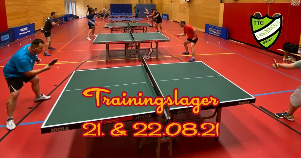 Trainingslager TTG Langenfeld & Arminia Ochtrup
